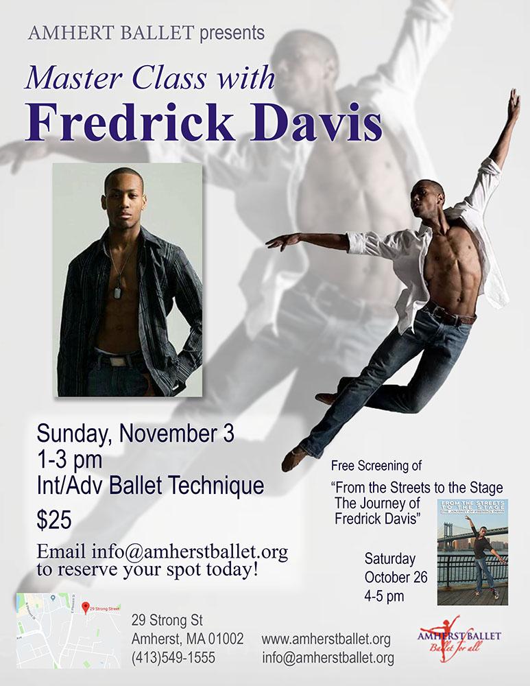 Fred Davis Master Class Flyer