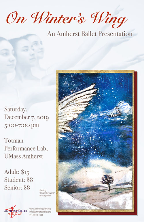 Amherst Ballet On Winter's Wing Poster