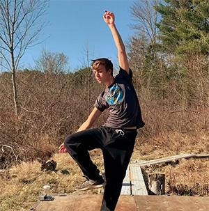 Caleb's Social Dis-Dance