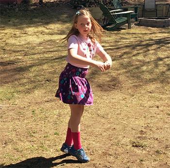 Olivia's Social Dis-Dance