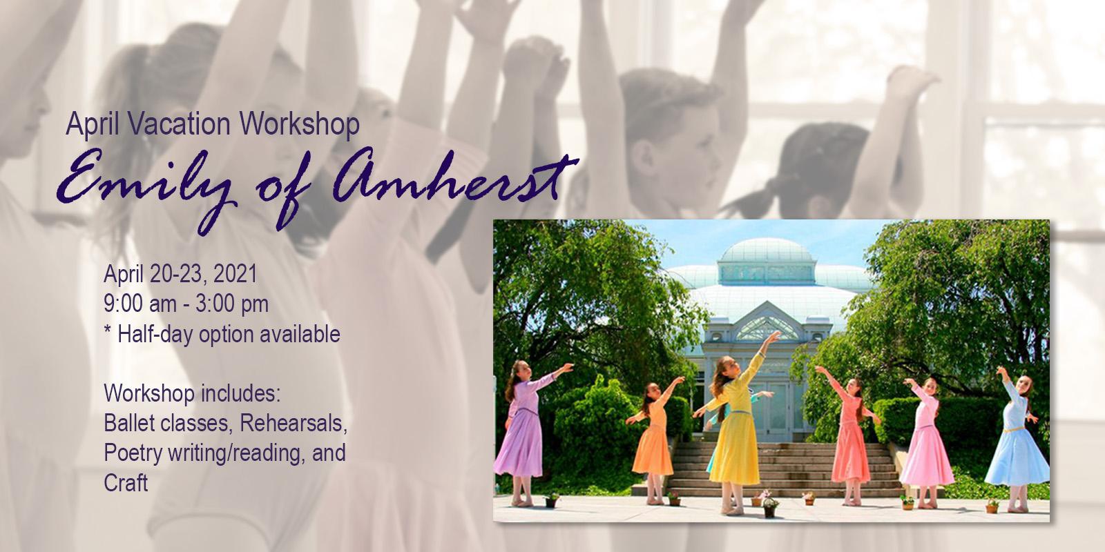 April Vacation Workshop at Amherst Ballet