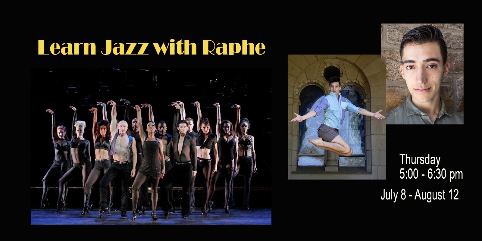 Jazz Class with Raphe